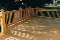Angled Decking, St. Peters, MO