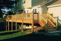 Cedar Deck Rails, St. Peters, MO