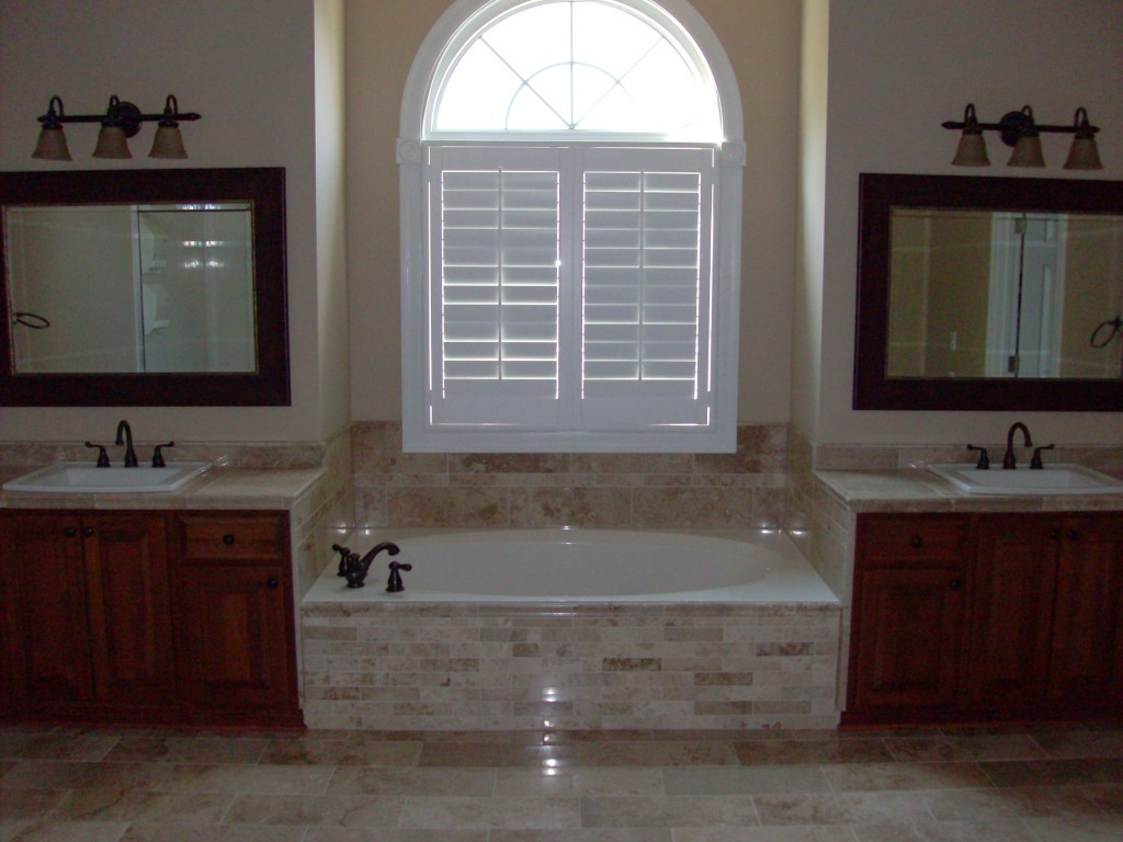 Bathroom Remodel Tub Tile Window Schrader 39 S Contracting